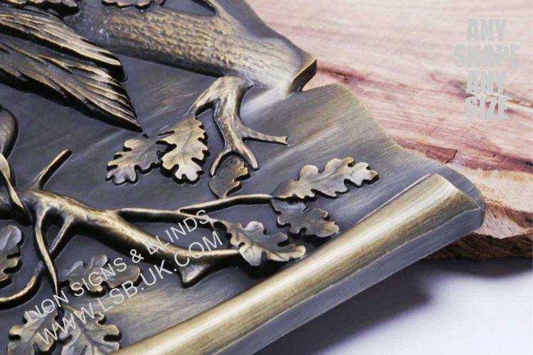 cast solid bronze 3D