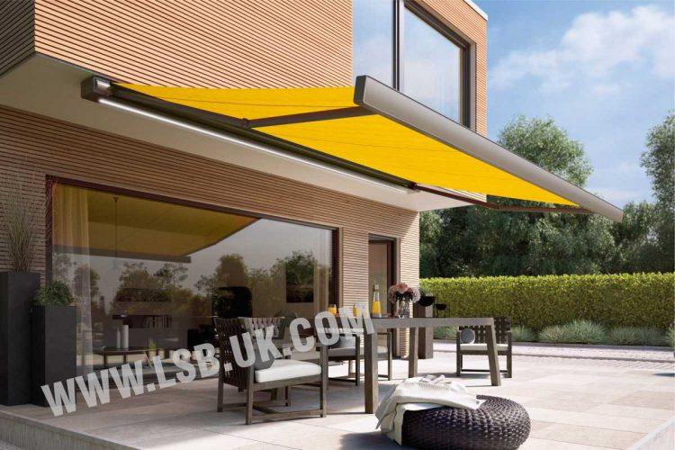 house markilux terrace blinds
