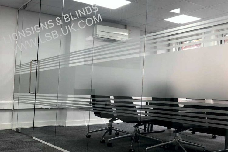 meeting room privacy film