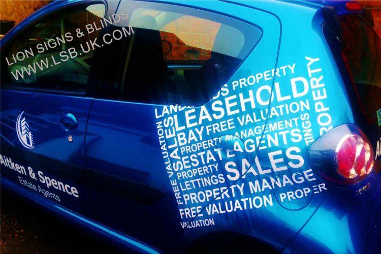 real estate agent car wraps