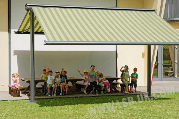 school awning blinds