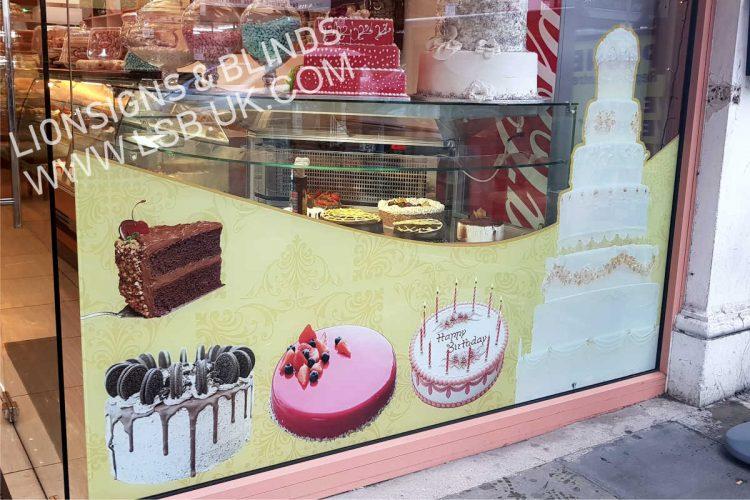 sweet shop window stickers