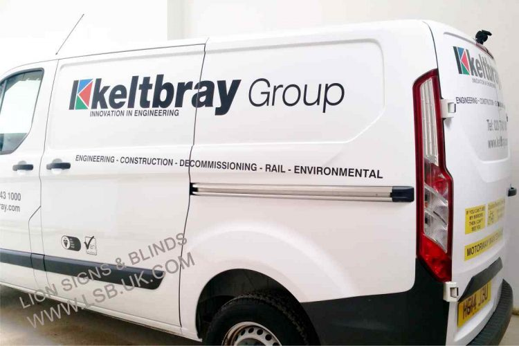 wembley builders van signage